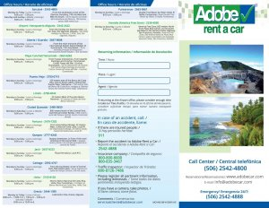 Brochure Adobe Rent a Car