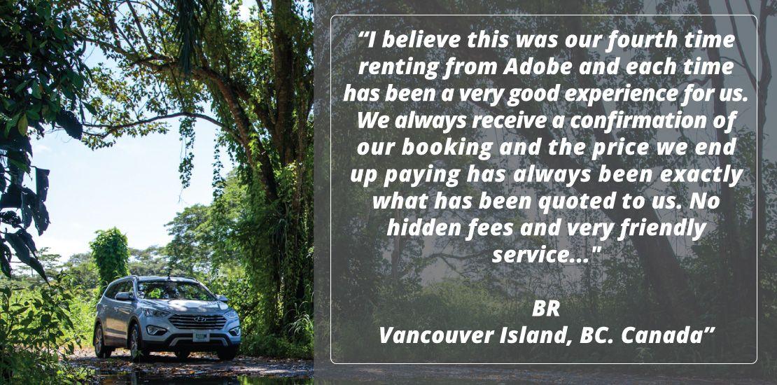 Adobe Rent a Car Review
