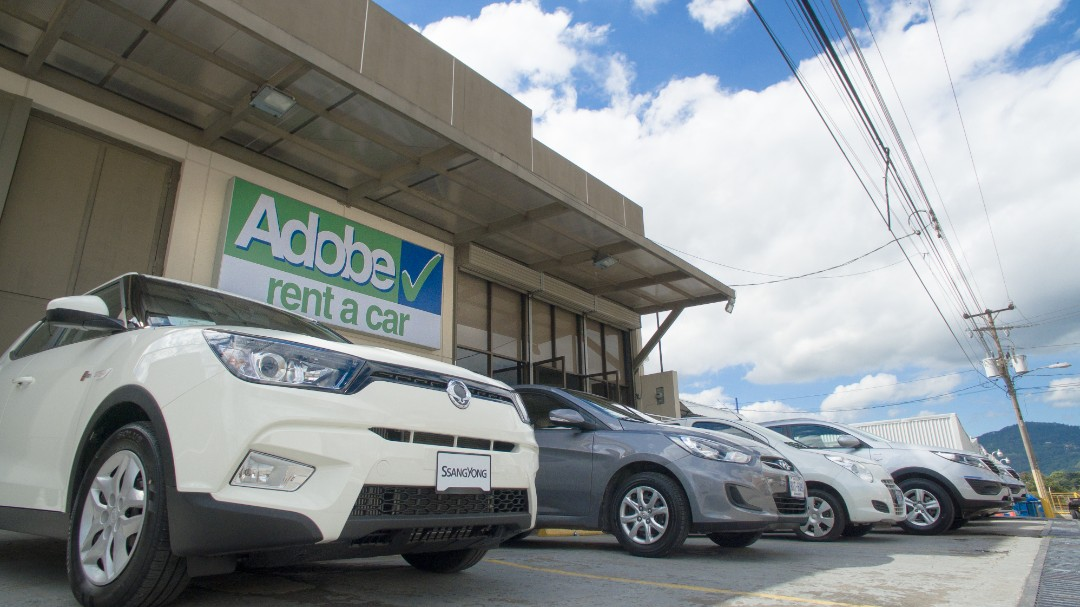 Adobe Rent a Car San Jose Costa Rica