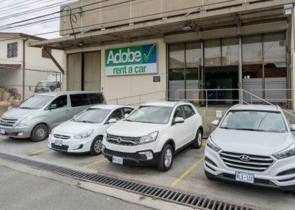 costa rica san jose adobe rent a car fleet