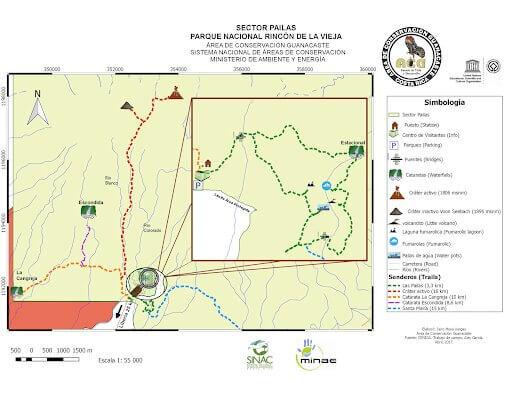 Parque Nacional Rincón de la vieja – Sector Pailas