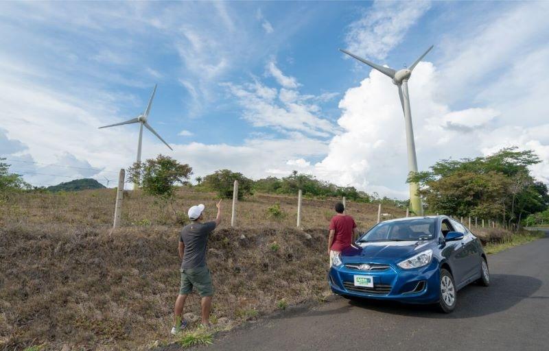 Hyundai Accent Blue Costa Rica