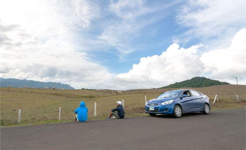 Hyundai Accent Blue – Adobe Rent a Car
