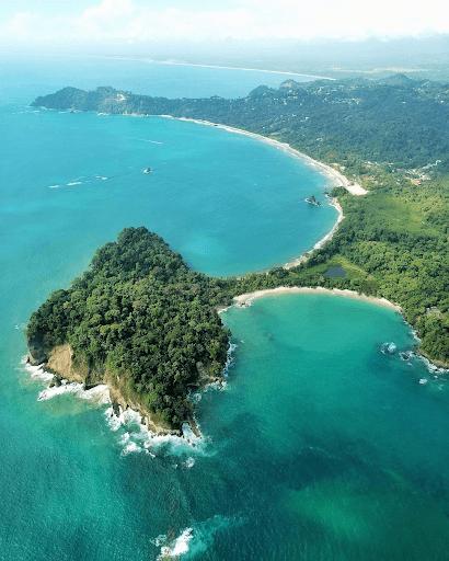 La Punta de Catedral. Parque Nacional Manuel Antonio