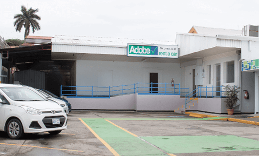 Adobe Car Rental en Limón Costa Rica