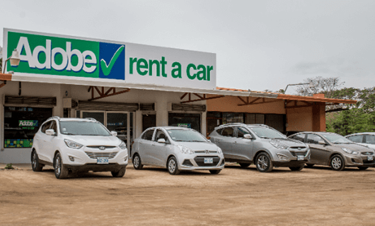 Adobe Car Rental en Uvita Costa Rica