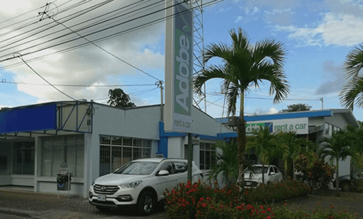 Adobe Car Rental en Fortuna Costa Rica