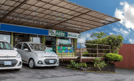 Adobe Car Rental en Ciudad Quesada Costa Rica