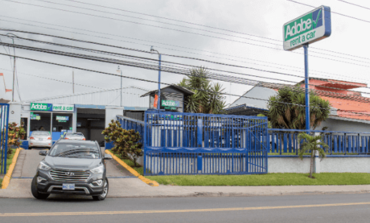 Adobe Car Rental en Alajuela Costa Rica