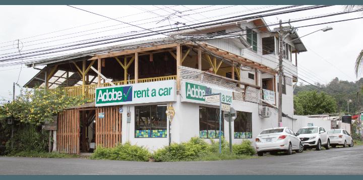Adobe Rent a Car Puerto Viejo