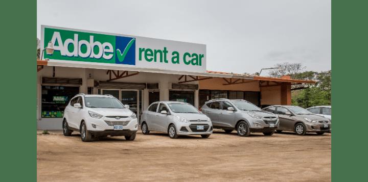 Adobe Rent a Car Office Uvita Costa Rica