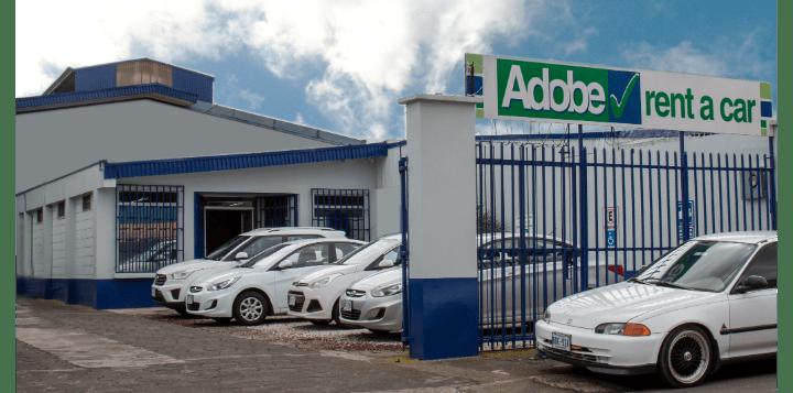 Adobe Rent a Car Oficina Cartago