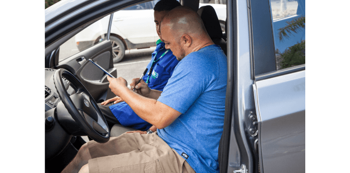 Renting a car en Guadalupe Costa Rica