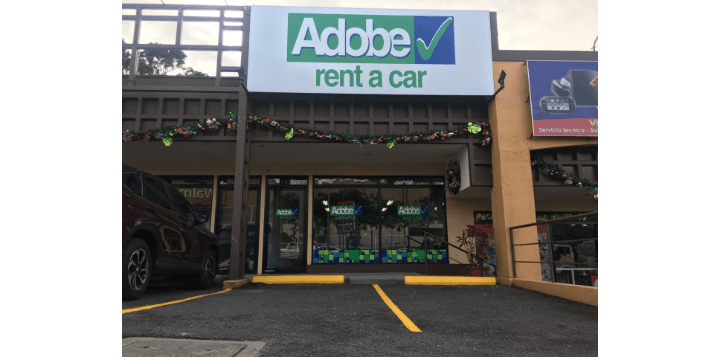 Adobe Rent a Car Guadalupe Costa RIca Office