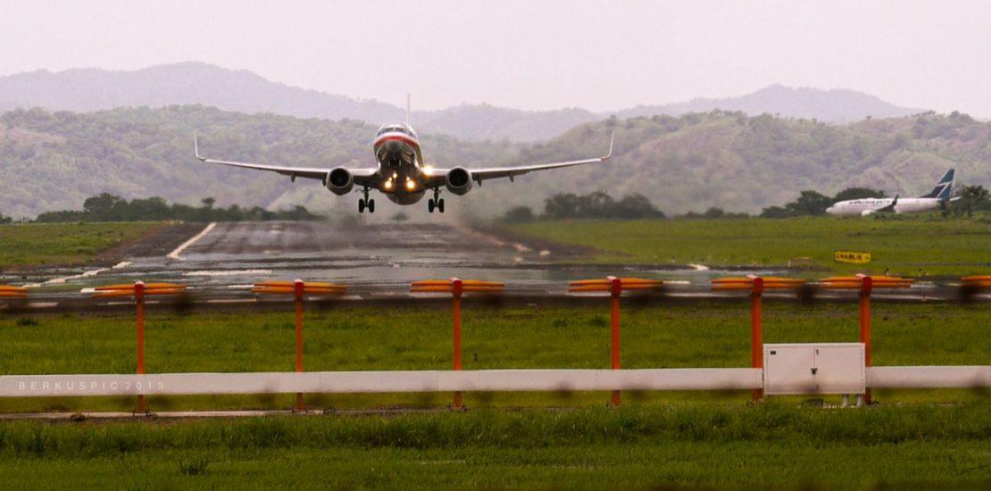 Llegando a Costa Rica Aeropuerto de Liberia