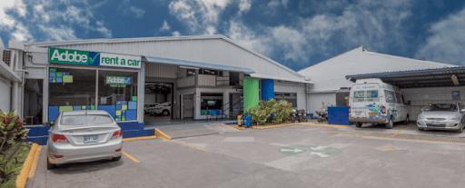 Oficina de Adobe Rent a Car cerca del aeropuerto SJO
