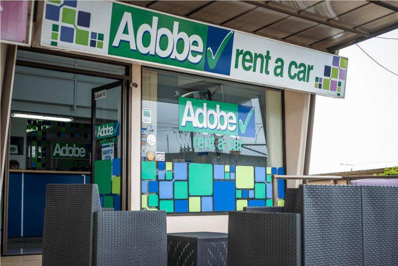 oficina de adobe rent a car