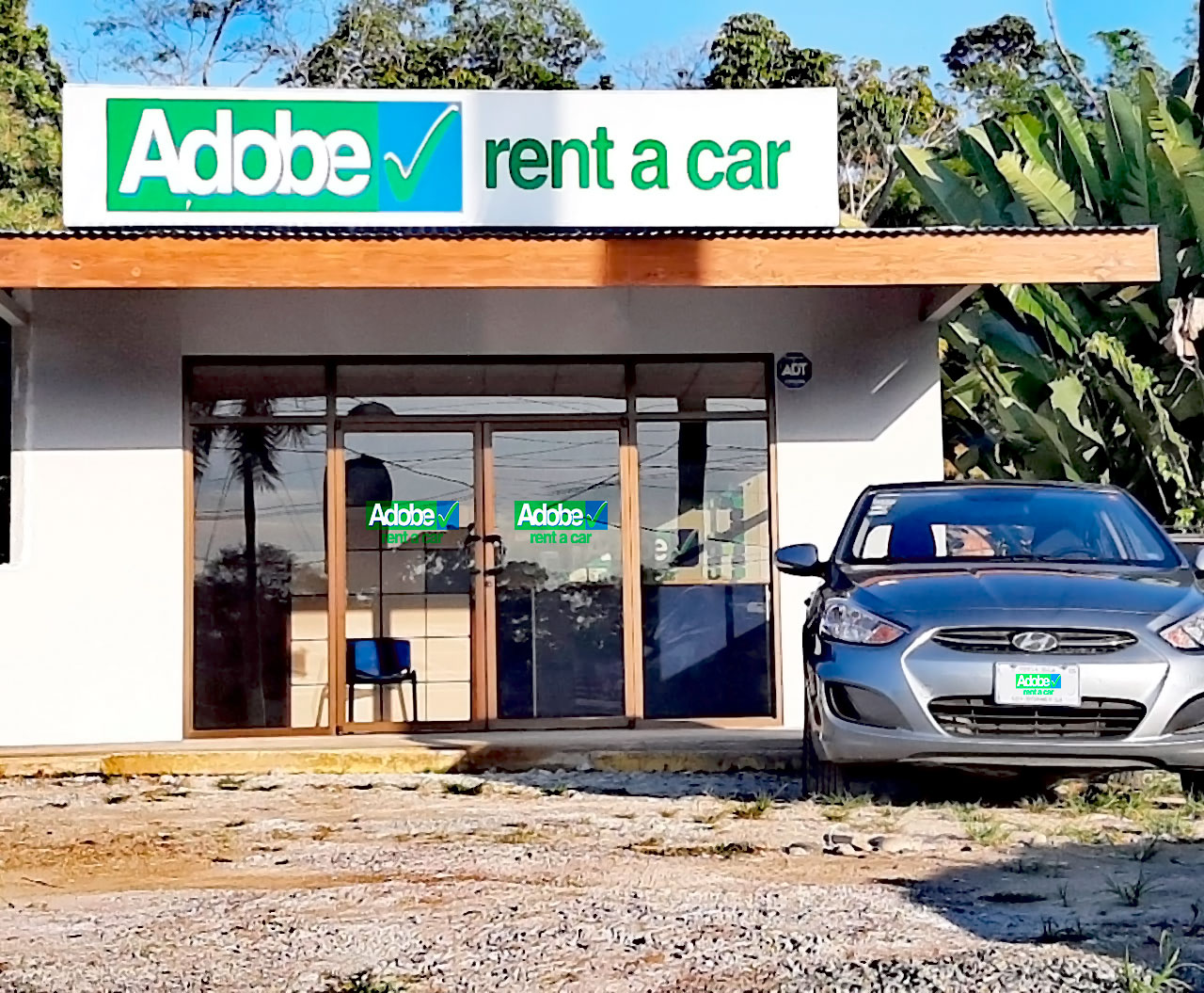 Adobe Rent a Car Uvita